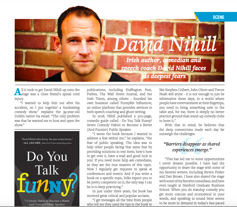 Irish Magazine Feature