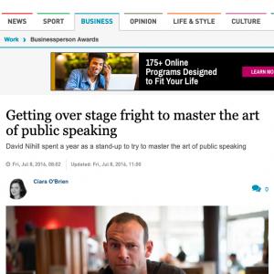 Irish Times Article